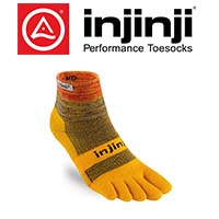 Logo et chaussette de la marque Injinji