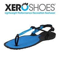 Logo et chaussure de la marque Xero Shoes